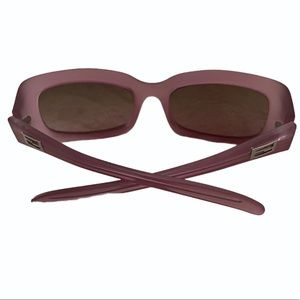 FENDI vintage frosted pink frame club sunnies